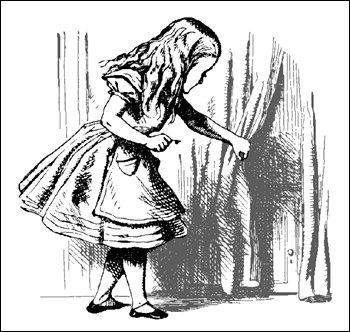 [במקור: http://www.freeclipartnow.com/d/7728-1/Alice-finding-tiny-door-behind-curtain.jpg]